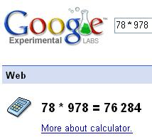 google calculator image